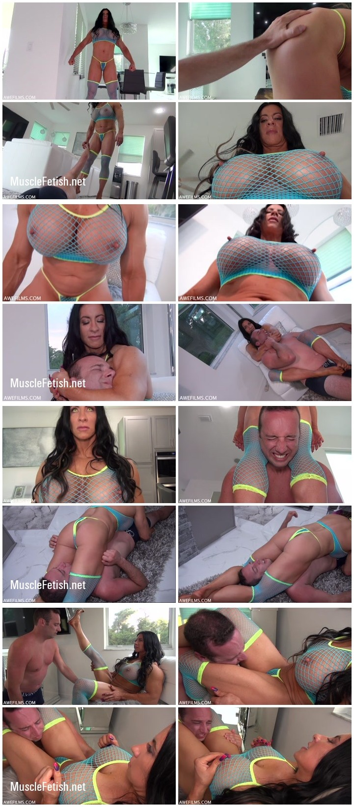 Mistress Angela SexBot from AweFilms - muscle domination