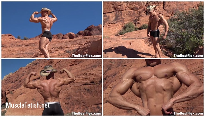 Muscle God Canyon - Muscular Titan in Photo Shoot from TheBestFlex