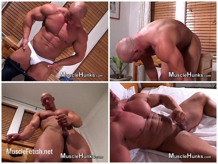 Muscle Hunks - Bodybuilder John Safar - Double Vision