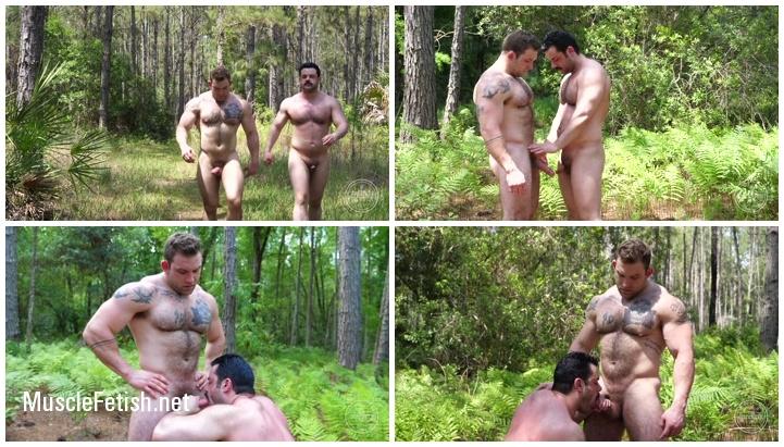 Muscle Jack Fucks Freddie in the Woods Part 1