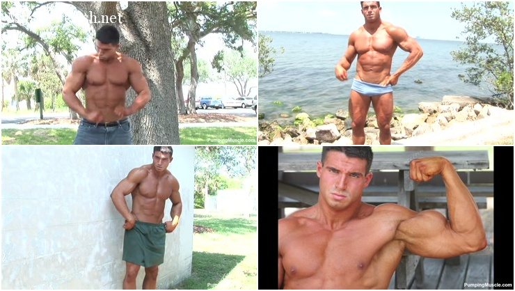 Muscle Model - Berk K Photo Shoot