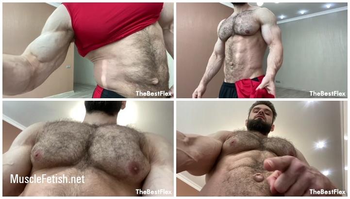 Muscle Model Jeff B - Weak Sub Wants My Body