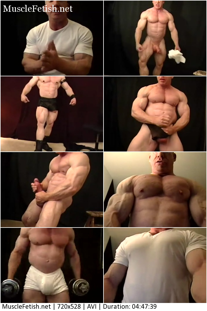 Muscle Model Tom Lord - Sexy Bodybuilder with a Big Cock - Photo Shoot Collection Part 2