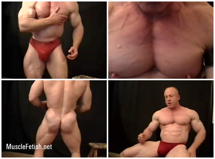 Muscle Model Tom Lord - Sexy Bodybuilder with a Big Cock