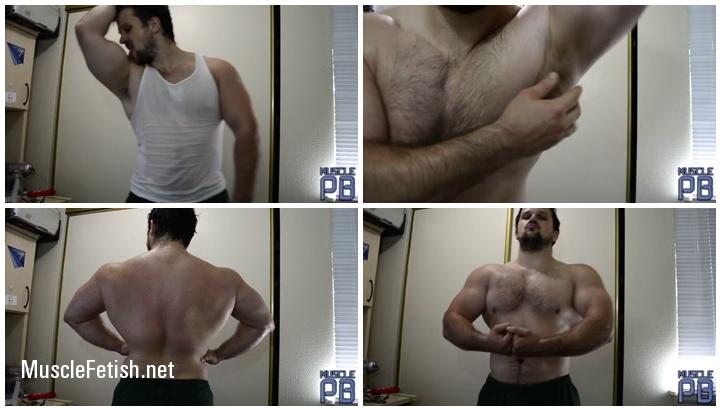 Muscle Power - Blue Sweaty Muscle Flex
