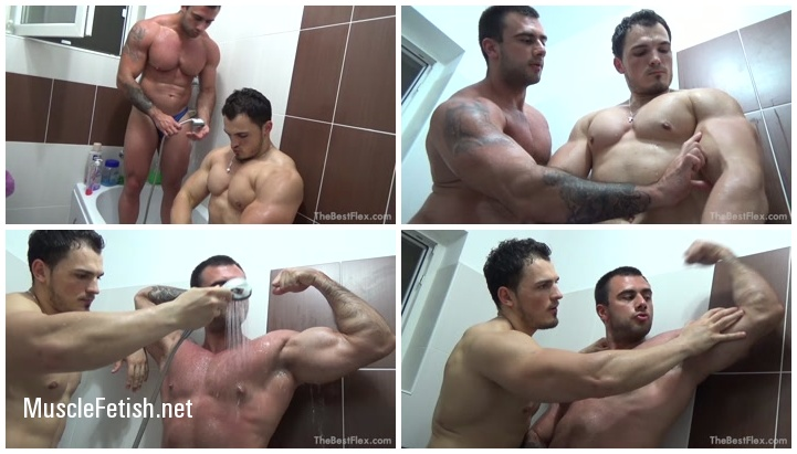 Muscle Worship - Maximus Steel Horny Alpha Boy Part 3