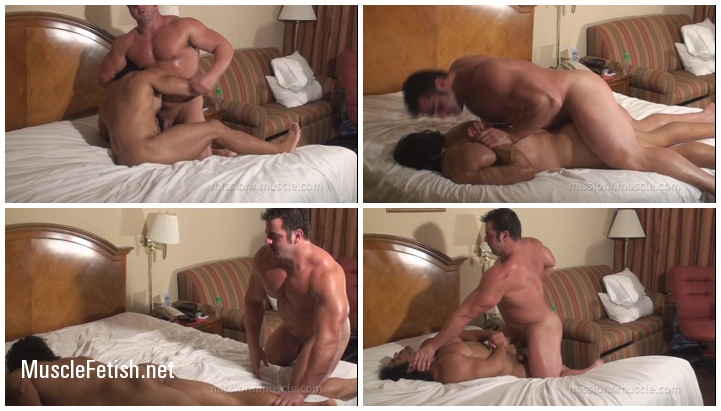 Muscle Worship Wrestling - Frank The Tank and Corleone (naked wrestlers)