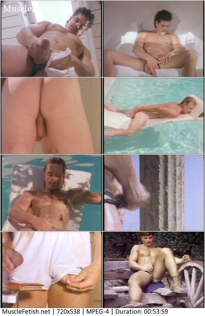Muscle fantasies - vintage erotica muscular guys 1988 year