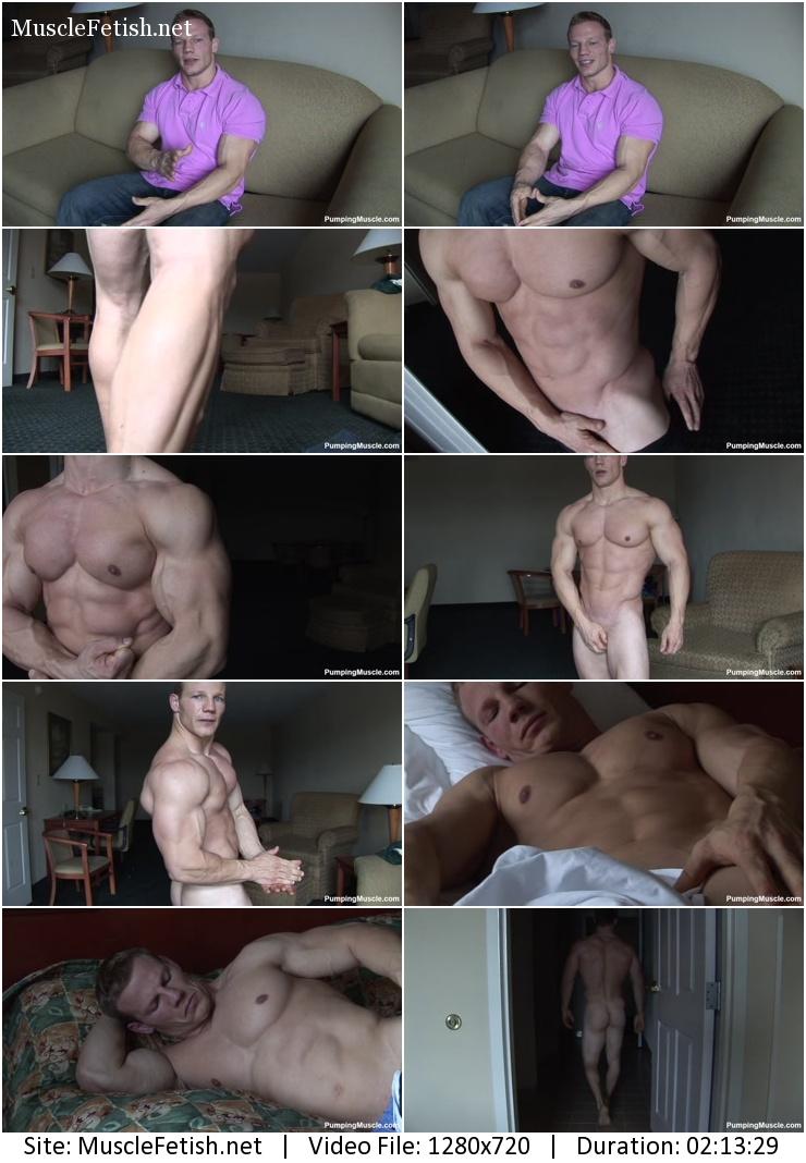 Muscle model - Bodybuilder Karl photo shoot