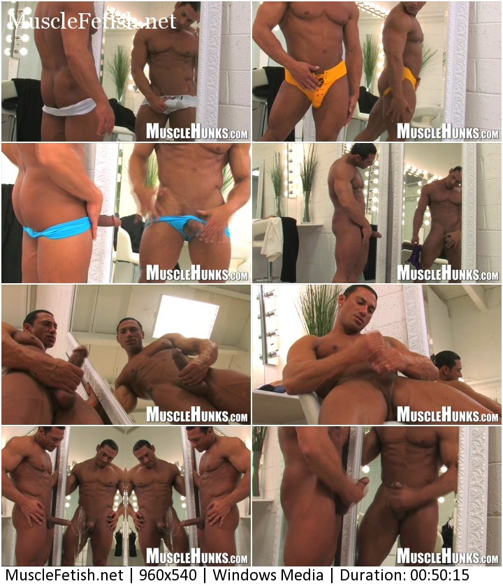Muscle model Rico Elbaz in video - Giant Behind Zipper 3