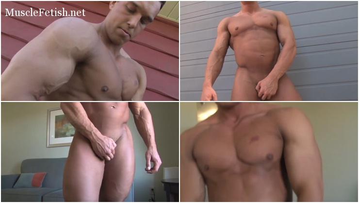 Muscle model - bodybuilder Chip E Photo Shoot