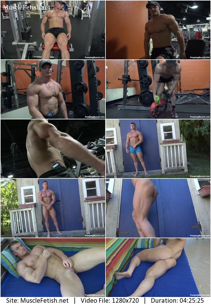 Muscle model - bodybuilder Nicholas P - Photo Shoot part 2