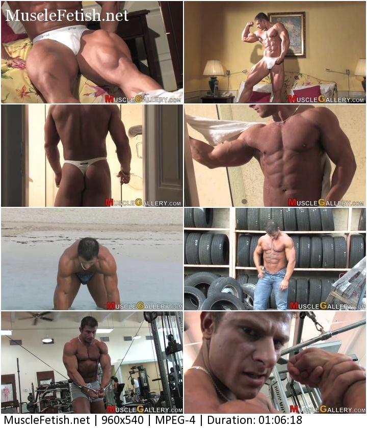 MuscleGallery - Bodybuilder Jiri Borkovek (Full Video)