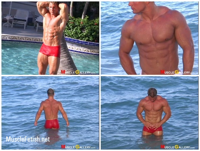 MuscleGallery Christian Engel's Lifestyle Video Photo Session