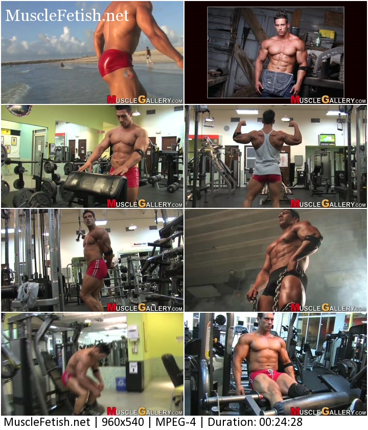 MuscleGallery Full Video - Francisco Dominguez Photo Shoot