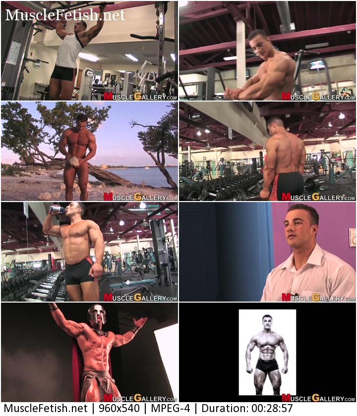 MuscleGallery video - bodybuilder Dennis Arnold