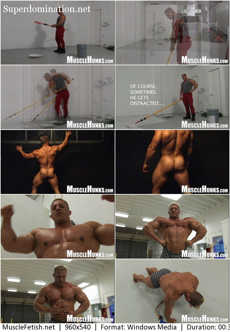 MuscleHunks – Sexy Blond - Hot Bodybuilder Papi Palermo – The Inferno of Palermo