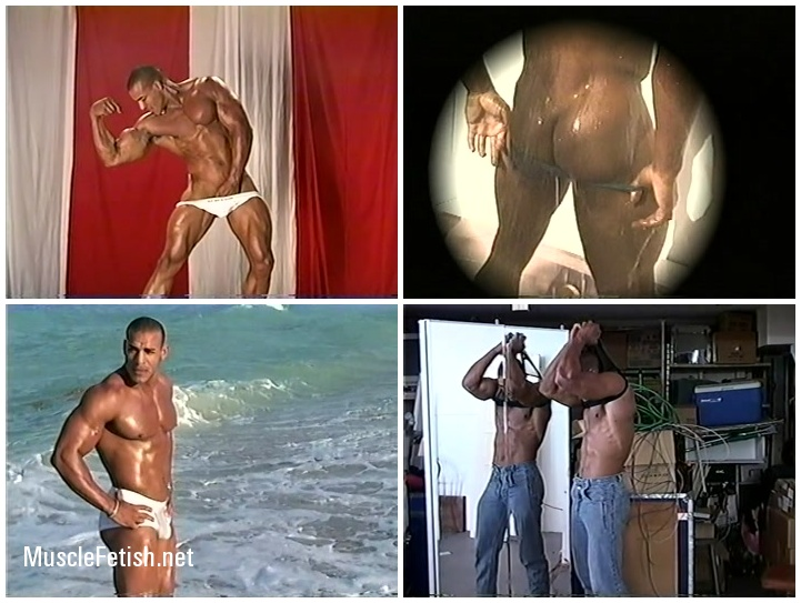 MuscleHunks - Bodybuilder Alex Castro