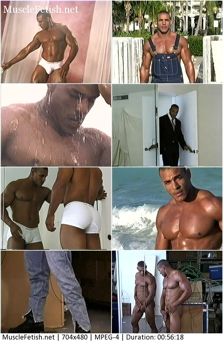 MuscleHunks - rare video these does of American Gladiator. Shower scene is very hot