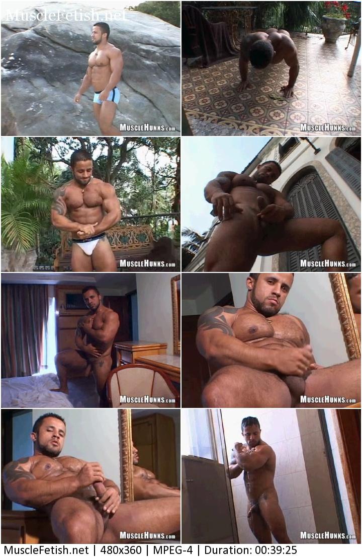 MuscleHunks video - Bodybuilder Adelio Senna