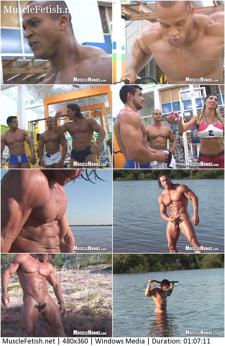 Musclehunks - Latin bodybuilder Daniel Morocco - Straight Up Cummer