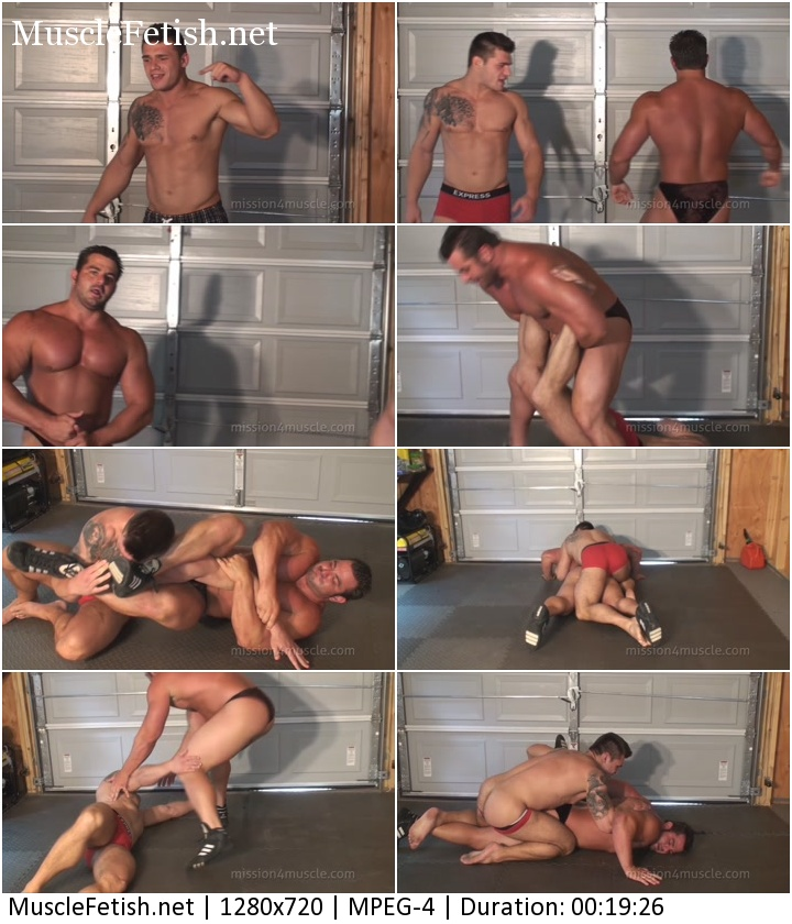 Muscular Battle from Mission4Muscle - Frank The Tank vs Jake Jethro