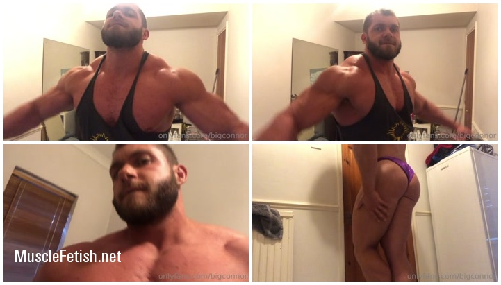 Muscular Big Connor from Onlyfans