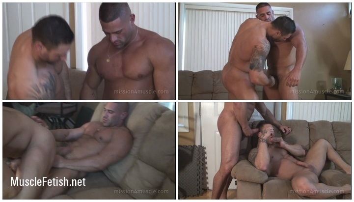Muscular Gays - Mike Buffalari and Sam Rizzo