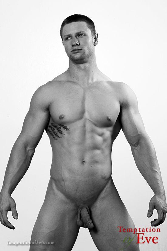Muscular Male Model Cory Mason