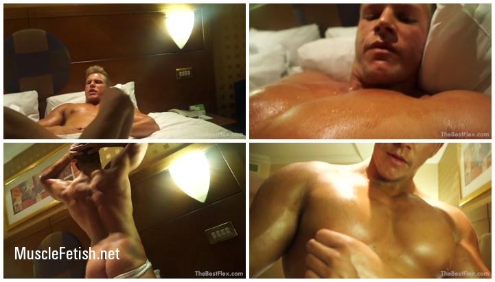 Muscular Master - Blonde Bodybuilder