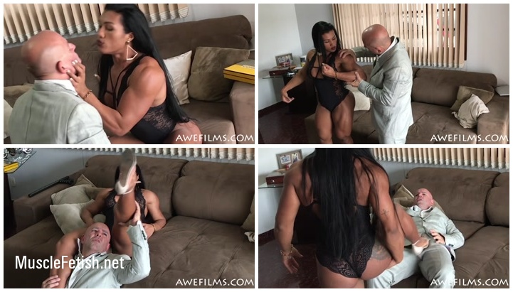 Muscular Mistress Alessandra Alvez Lima - Female Muscle Domination