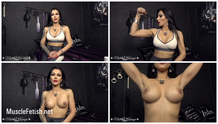Muscular Mistress Kennya - Too Strong For You (muscle worship from clips4sale)