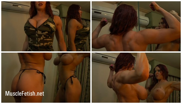 Muscular Mistress Kylee Nash - Sergeant Nash Humiliates a Weak Private