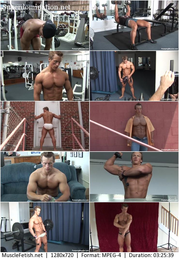 Muscular Model BENJAMIN L PHOTO SHOOT 2 (PumpingMuscle)