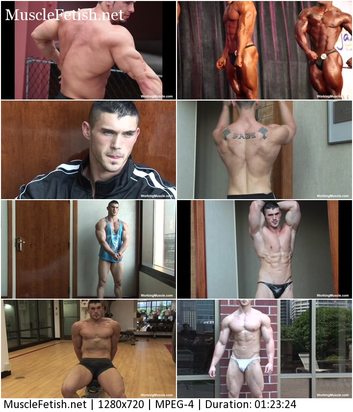 Muscular boys - Gavin F and Daniel A. No nudity.