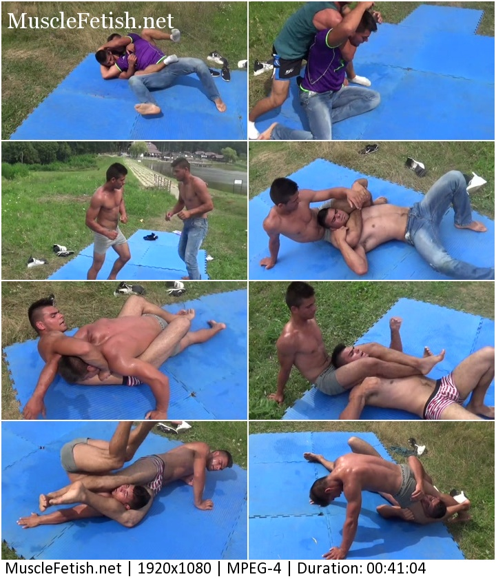 Muscular brothers - Revenge in male wrestling from Hellbo Media - muscle domination