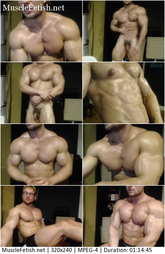 Muscular male model Elijah Lorono - pretty bodybuilder from chaturbate (webcam)