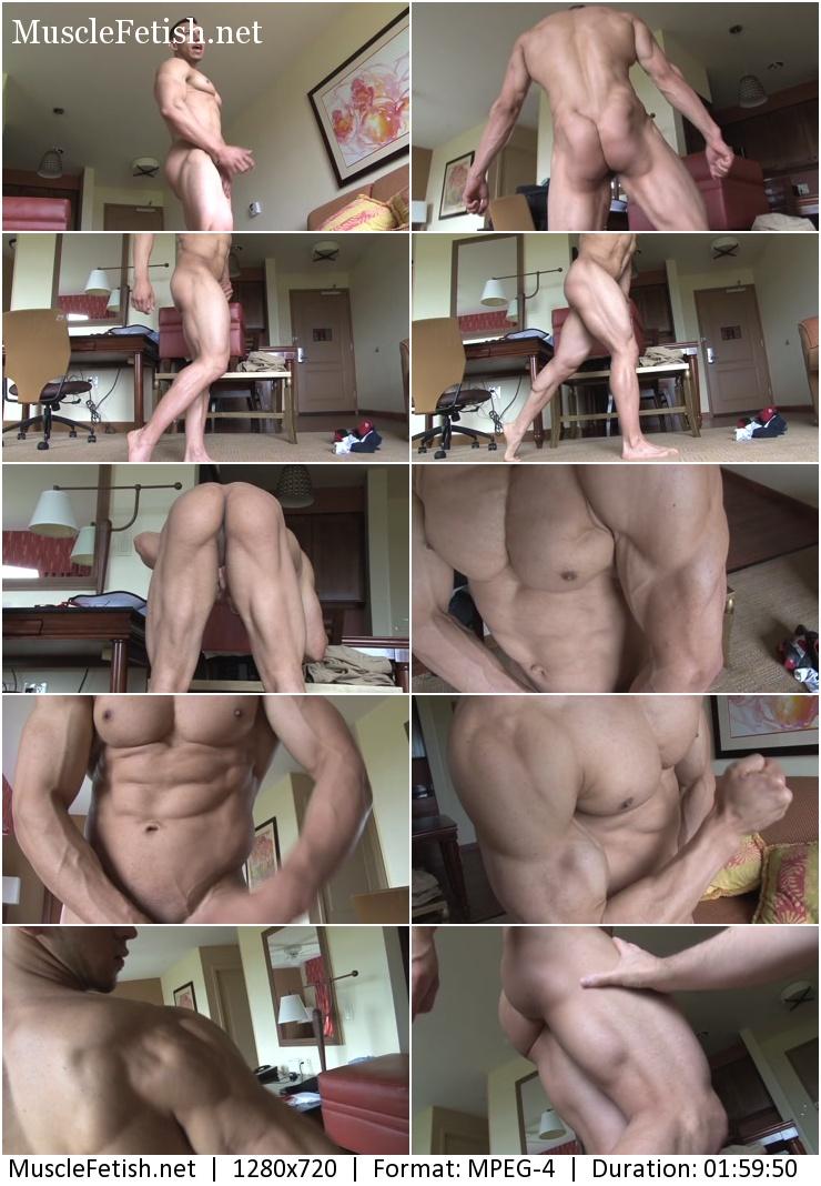 Naked Bodybuilder Edgar I (PumpingMuscle - 2014)