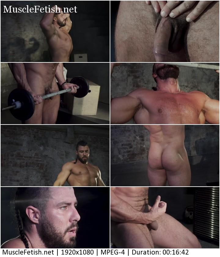 Naked Russian bodybuilder - erotic male photoshoot 5