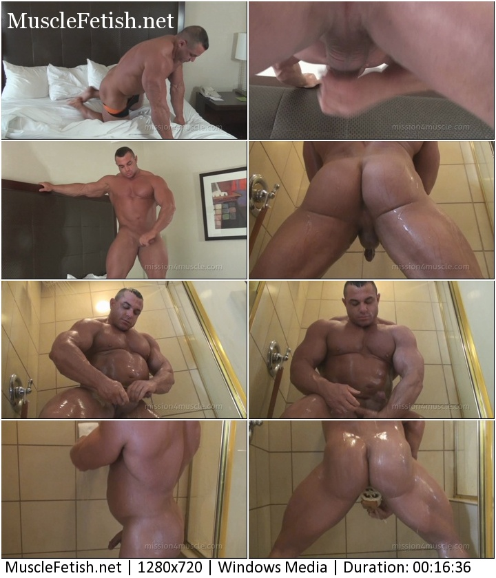 Naked bodybuilder Chaz Ryan - Hard Muscle And Ass Photo Shoot