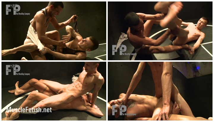 Naked male wrestling from Fightplace - Bad Habits