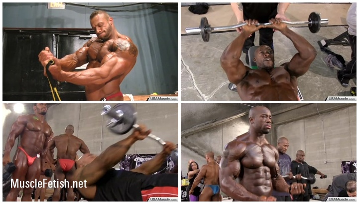National Bodybuilding Pump Room - part 4