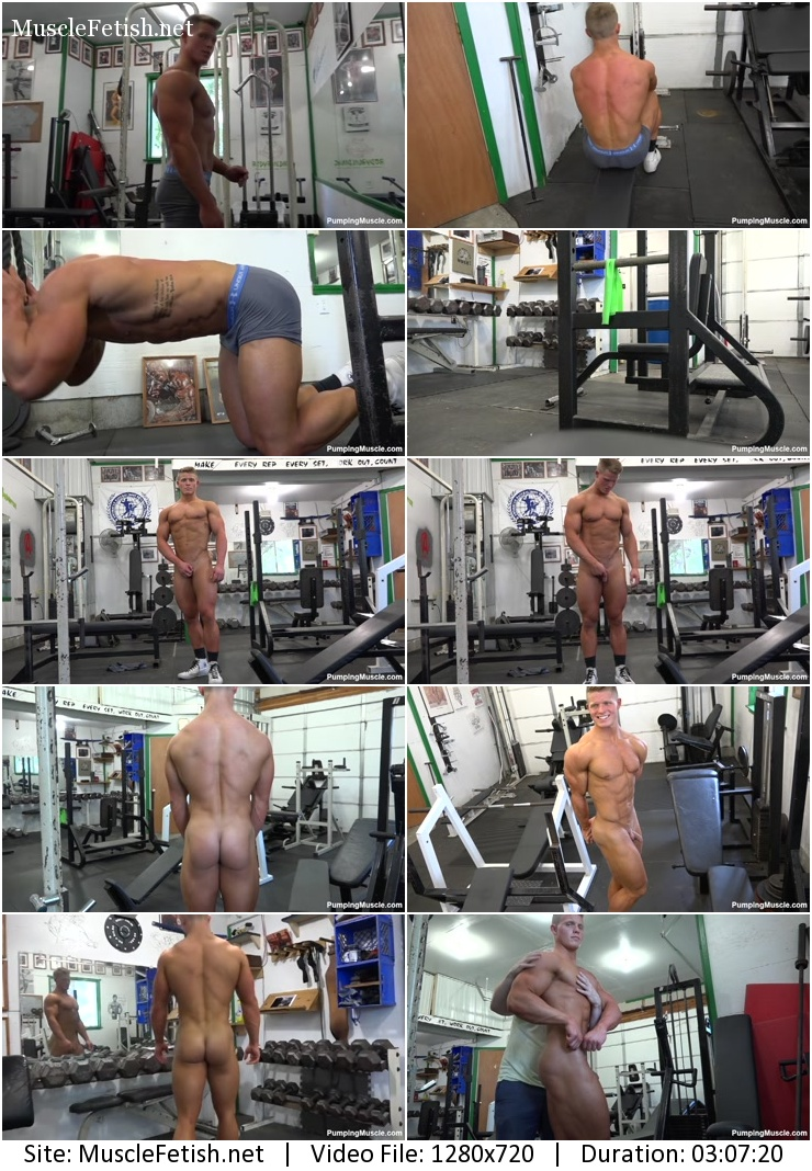 Natural bodybuilder Rocky W – photoshoot