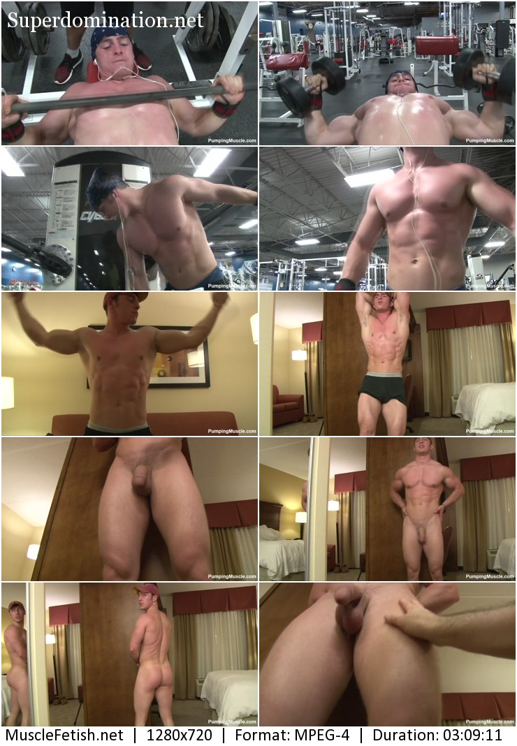 PUMPINGMUSCLE VIDEO - BODYBUILDER TIM K PHOTOSHOOT PART 4