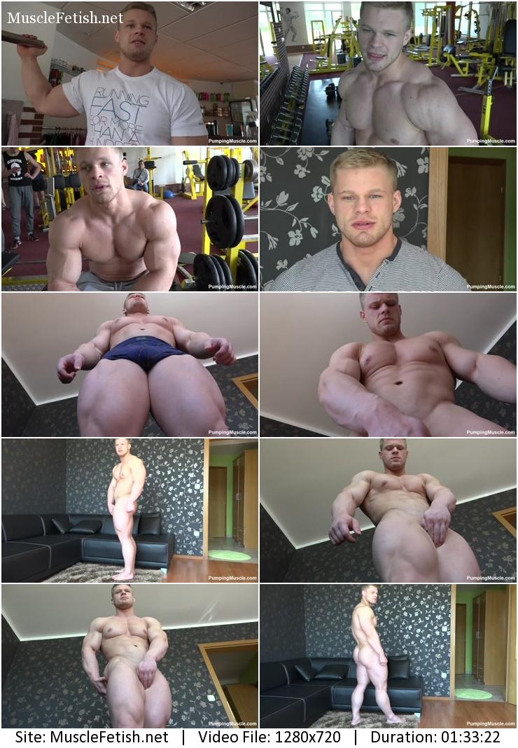 Pumping Muscle – Gary E photo shoot part 4