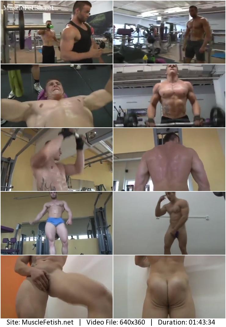 Pumping Muscle – Vlady K photoshoot 1