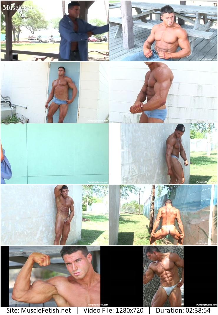 Pumping Muscle - Berk K Photo Shoot