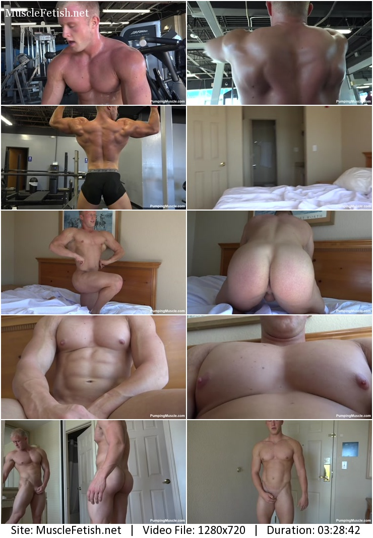 Pumping Muscle - Boris V Photo Shoot 1