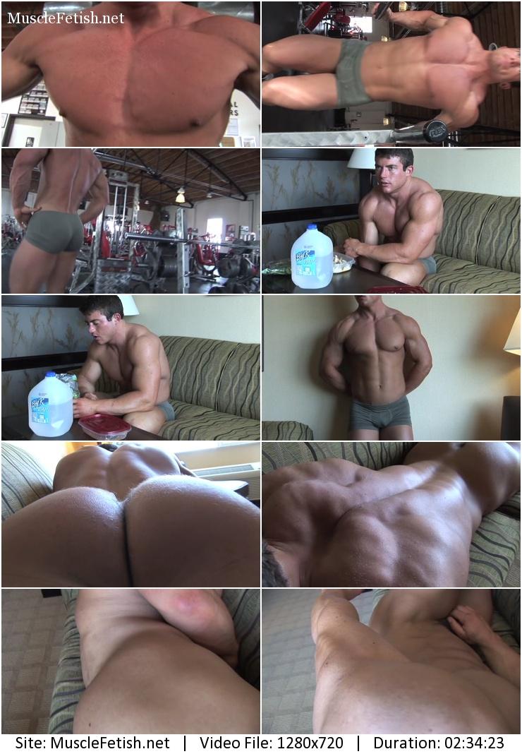 Pumping Muscle - Richie T Photo Shoot part 3