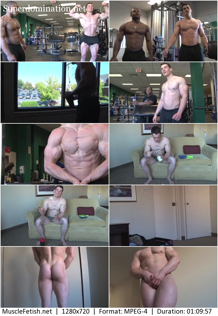 Pumping Muscle video - Bodybuilder Lance T Photo Shoot 2